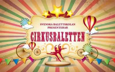 Cirkusbaletten på turné till skolor i regionen