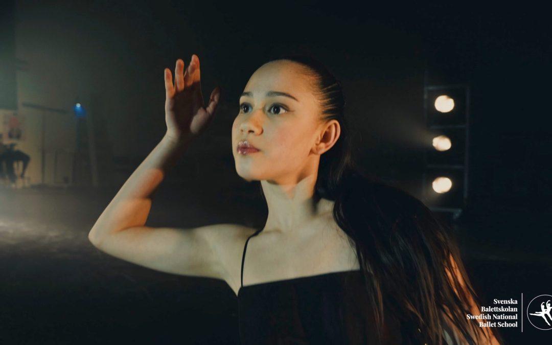 Ung talang vid Svenska Balettskolan får kulturstipendium