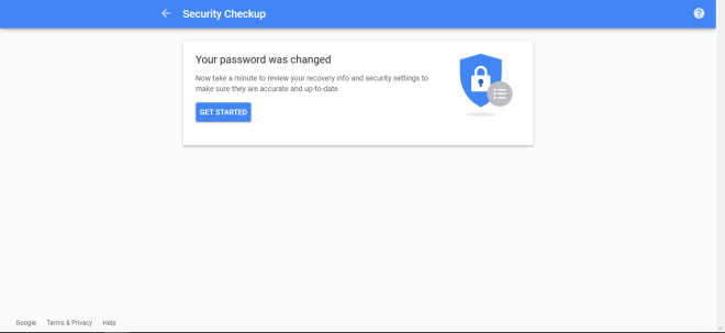 how to change the password in gmail