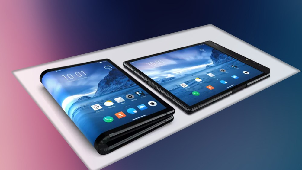 Samsung's foldable phone