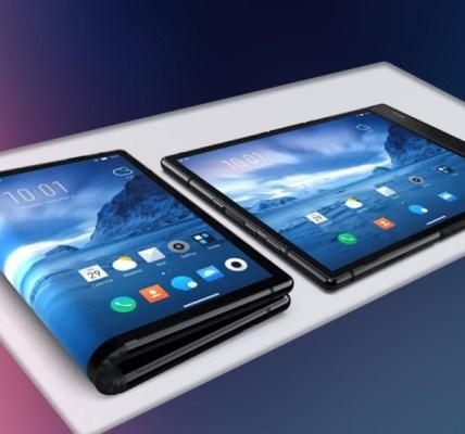 Samsung's foldable phone