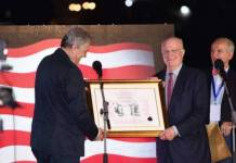 Robert Gelbard / Dobitnik mostarske Nagrade za mir