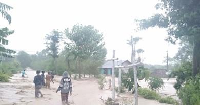 Bencana Alam Desa Merbaun