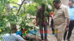 Wakil Wali Kota Baubau saat meninjau Running Test aliran air bersih di Pantai Nirwana
