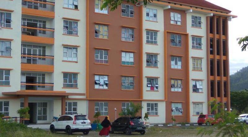 Rumah susun sederhana sewa (rusunawa) di Kelurahan Lasusua