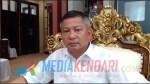 Wakil Bupati Konawe, Gusli Topan Sabara, ST., MM., saat ditemui di ruang kerjanya, Kamis (3/12/2018).