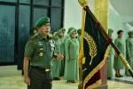 Suasana upacara pisah sambut pangdam XIV/Hsn di Kodam Hasanuddin Makassar, Sulawesi Selatan (Sulsel) senin,13/1/2020