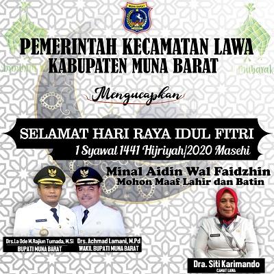 Iklan Kec Lawa Mubar Ucapan Idul Fitri (terbit)