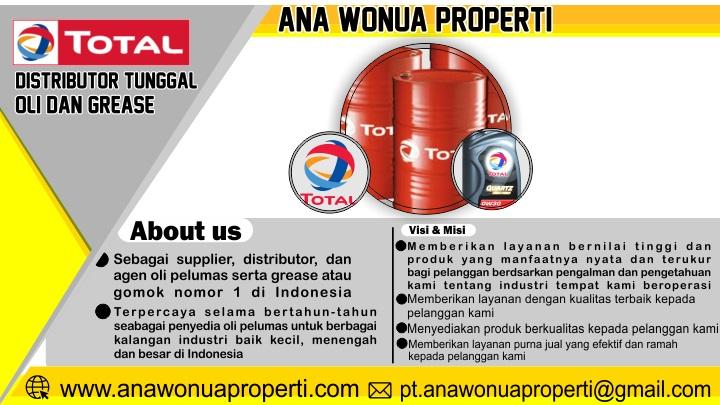 Iklan dalam Berita Ana Wonua Distributor Oli Total