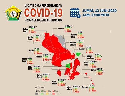 Update Perkembangan Covid 19 12 Juni