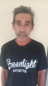 Ketgam: Tampak LDN (53) pelaku pencabulan di bawah umur di Bombana. (Foto:ist).