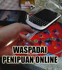 Koran Nusantara Ilustrasi Penipuan Online