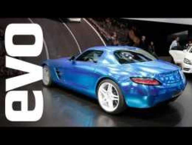 Mercedes SLS AMG Electric Drive: Paris 2012 | evo MOTOR SHOW