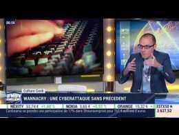 Anthony Morel: Wannacry, une cyberattaque sans précédent - 15/05