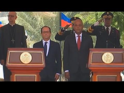 François Hollande en Haïti : une dette morale ou financière ?