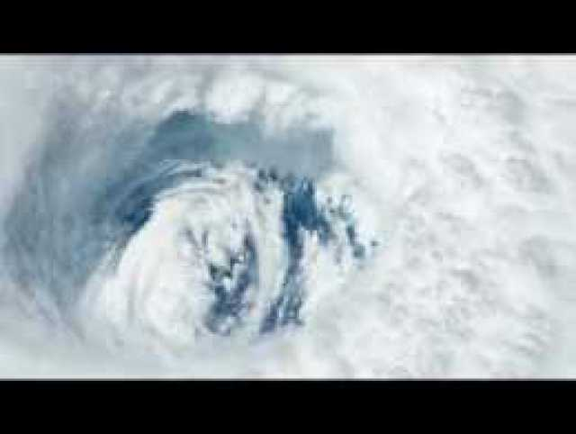 Zoom Into Hurricane Dorian's Eye From Space in Amazing Time-Lapse