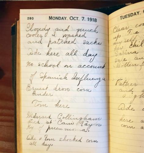 Женщина показала дневники прабабушки, жившей во время испанки. И на современный карантин можно не жаловаться