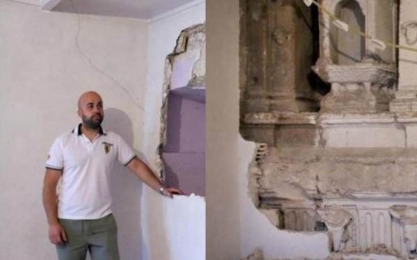 Мужчина начал ремонт, а за стеной был привет из Ренессанса. Так легко найти шедевр XIV века - удача 100 уровня
