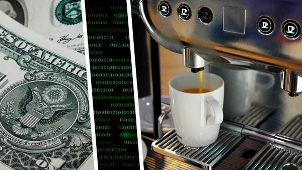 Учёный взломал кофемашину и, кажется, приблизил восстание машин. Теперь она робот и требует выкуп