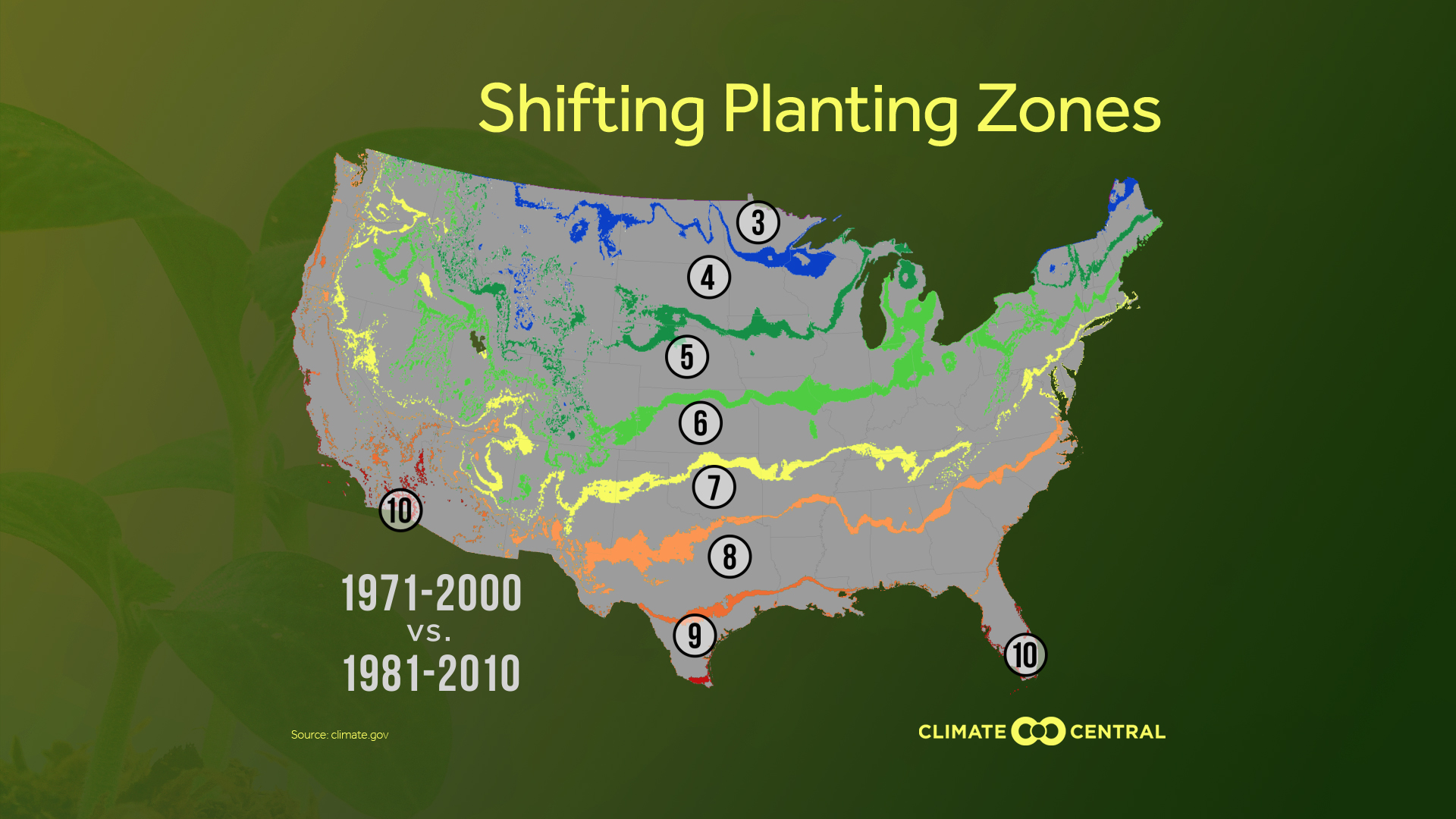 Planting Zones Moving North