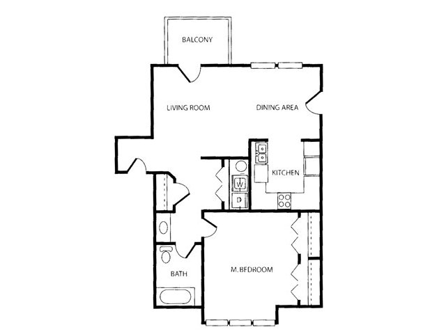 1 Bed / 1 Bath Apartment In Midlothian VA