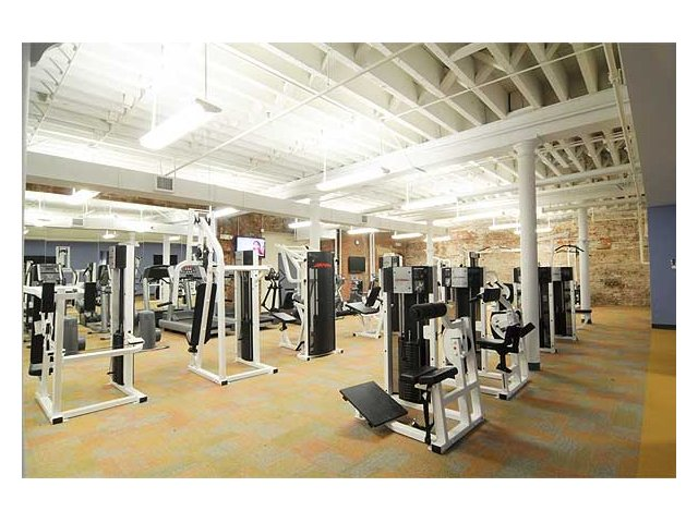 Another View Of Our State The Art Fitness Center At Cameron Kinney