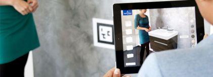 Augmented Reality App von Villeroy & Boch (Quelle: Villeroy & Boch)