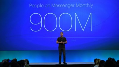 David Marcus bei der F8 Entwicklerkonferenz von Facebook