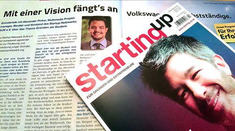 Alexander Pinker - Interview Startup Magazin