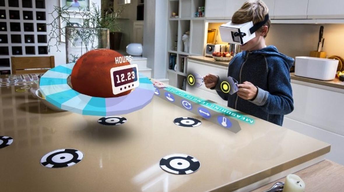 Zapbox Mixed Reality Headset