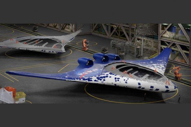 Morphing wings of MIT and NASA (Source: NASA)