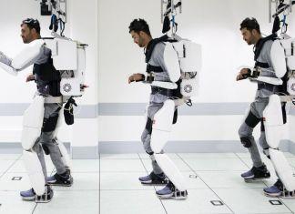 Brain Machine Interface Exoskelett