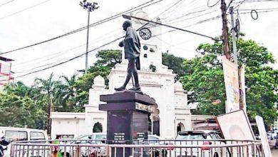 Photo of കോട്ടയം നഗരത്തിലെ ഗാന്ധി പ്രതിമക്ക് ഇന്ന് 50 വയസ്സ്; 1925ൽ ഗാന്ധിജി ആദ്യമായി കോട്ടയത്ത് വന്നതിന്റെ  സ്മരണക്കാണിത് സ്ഥാപിച്ചത്
