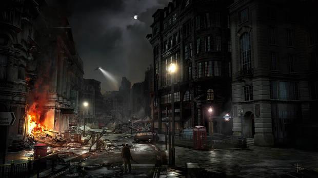 A desolate London serve