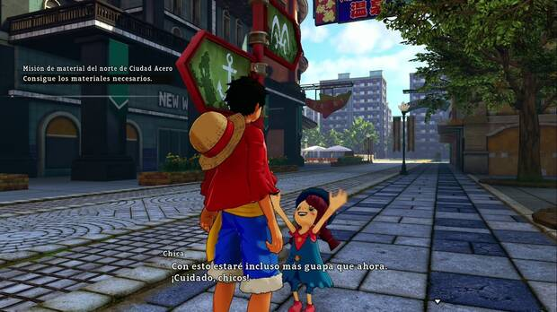 luffy one piece world seeker