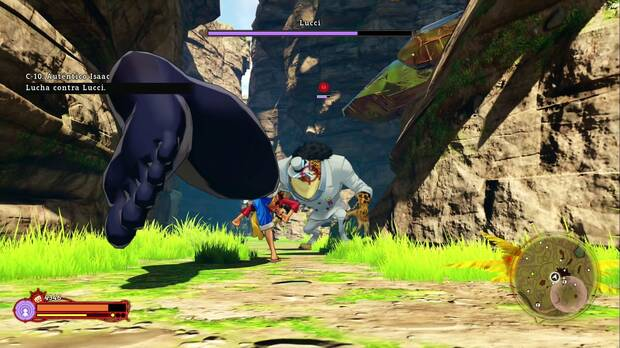 one pieces world seeker combate.
