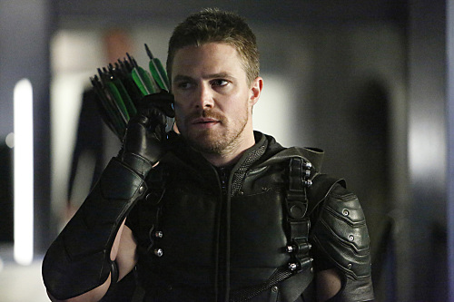 "Stephen Amell in Arrow ""Taken"""