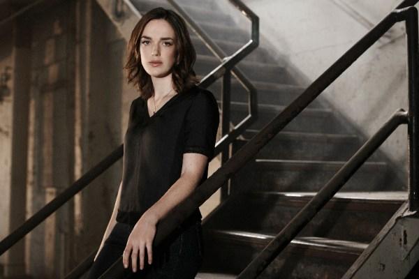 "MARVEL'S AGENTS OF S.H.I.E.L.D. - ABC's ""Marvel's Agents of S.H.I.E.L.D."" stars Elizabeth Henstridge as Agent Jemma Simmons. (ABC/Kurt Iswarienkio )"