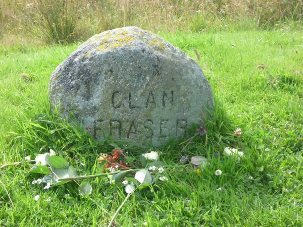Clan Fraser Stone at Culloden / CR: Celtic Journeys