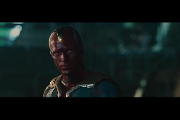 Paul Bettany as Vision in Avengers: Age of Ultron / Marvel / Disney