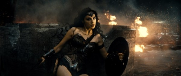 Gail Gadot as Wonder Woman in 'Batman v Superman' / Warner Bros.