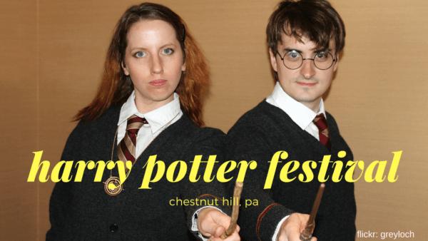Harry Potter Festival in Chestnut Hill