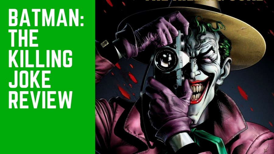 Batman: The Killing Joke Movie Review