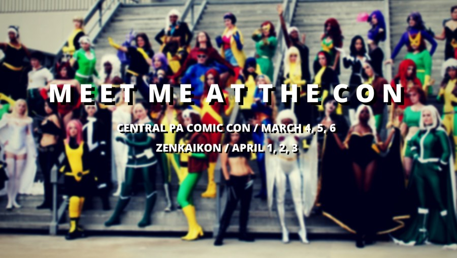 Comic Con Appearances