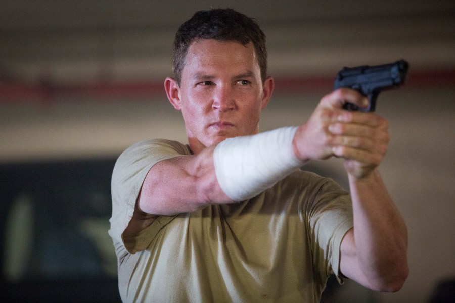 Shawn Hatosy as Corporal Andrew Adams - Fear The Walking Dead _ Season 1, Episode 6 - Photo Credit: Justina Mintz/AMC