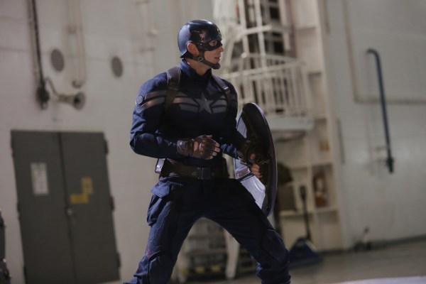 Marvel's Captain America: The Winter Soldier Captain America/Steve Rogers (Chris Evans) Ph: Zade Rosenthal © 2014 Marvel. All Rights Reserved.