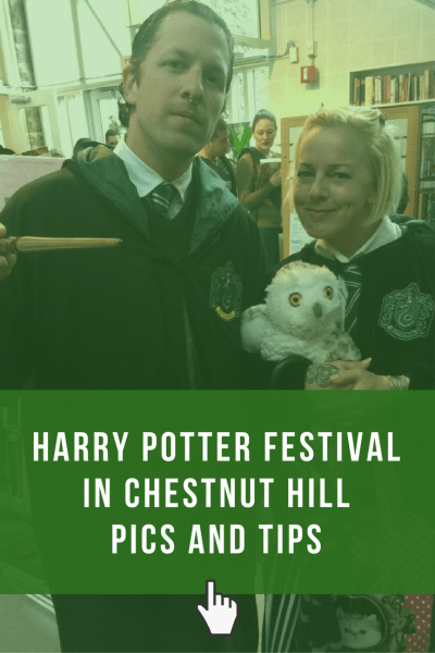 Harry Potter Festival in Chestnut Hill Pics and Tips. Get travel tips and see photos of the activity booths and cosplayers!