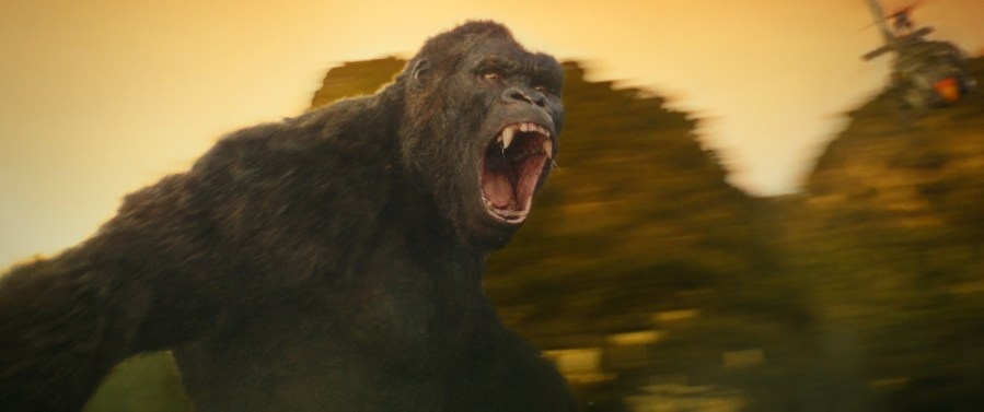 "ONG in Warner Bros. Pictures' and Legendary Pictures' action adventure ""KONG: SKULL ISLAND,"" a Warner Bros. Pictures release."