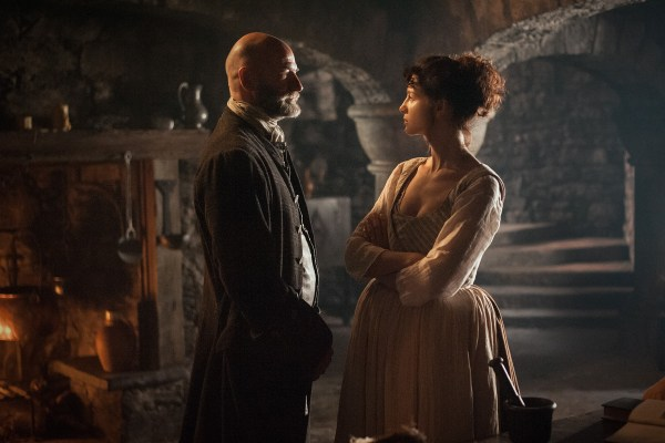 Graham MacTavish and Caitriona Balfe