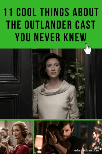 Outlander Cast Photo Collage